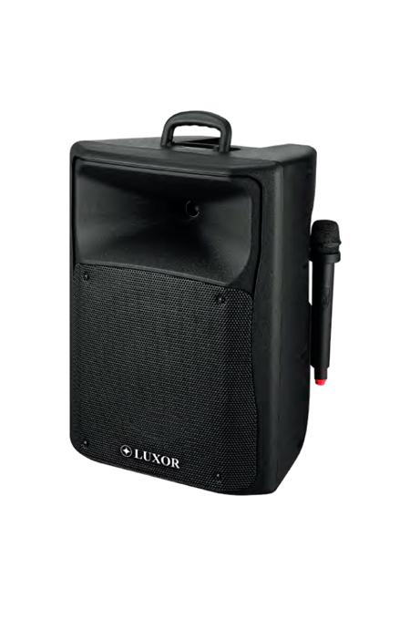 Luxor Parlante + Micrófono 250W PP-3010AUS-CB